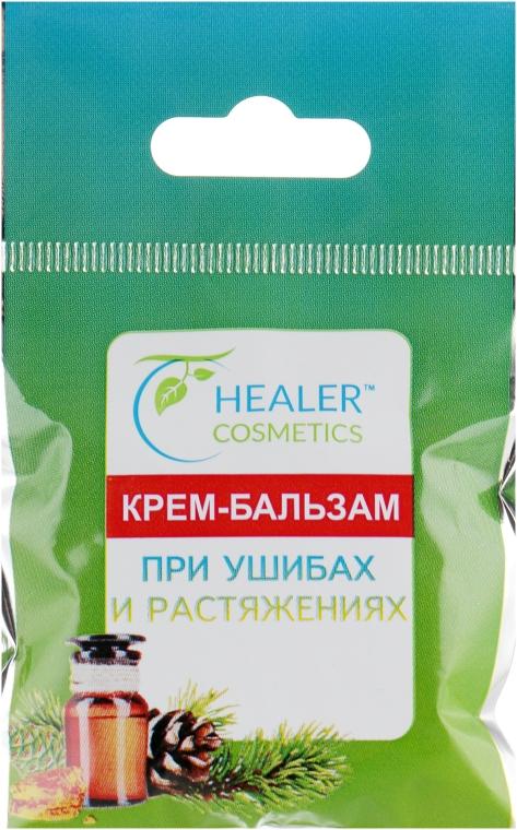 Крем-бальзам при ушибах и растяжениях - Healer Cosmetics