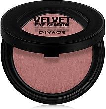 Матовые тени для век - Divage Velvet Eye Shadow — фото N2