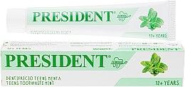 Духи, Парфюмерия, косметика Зубная паста с мятой - PresiDENT Clinical Teens