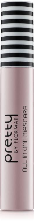 Универсальная тушь для ресниц - Flormar Pretty All In One Mascara