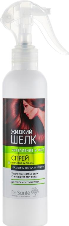 """Спрей против выпадения волос """"Укрепление и Рост"""" - Dr. Sante Silk Care Spray"""