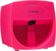 Духи, Парфюмерия, косметика Принтер для ногтей, розовый - O'2Nails Mobile Nail Printer V11