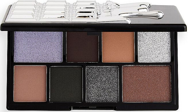 Палетка теней для век - I Heart Revolution Black Pearl Mini Chocolate Eyeshadow Palette