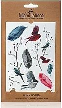 Духи, Парфюмерия, косметика Акварельные переводные тату - Miami Tattoos Lovely Birds
