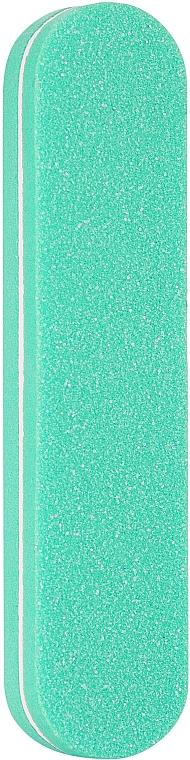 Баф полировочный одноразовый овальный 100х180, PF-20, бирюзовый - Puffic Fashion