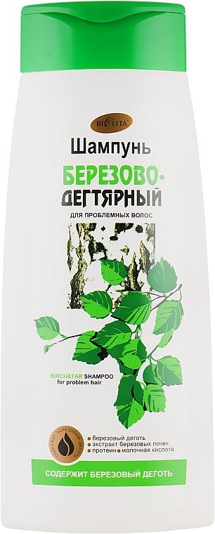 """Шампунь """"Березово-Дегтярный"""" - Bielita Shampoo"""