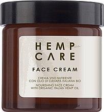Духи, Парфюмерия, косметика РАСПРОДАЖА Крем для лица - Hemp Care Nourishing Face Cream with Organic Italian Hemp Oil *