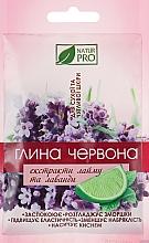 Духи, Парфюмерия, косметика Красная глина с экстрактом лайма и лаванды - NaturPro