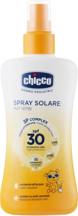 Солнцезащитное молочко-спрей - Chicco Spray Solare SPF30