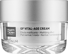 Духи, Парфюмерия, косметика УЦЕНКА Крем для нормальной и комбинированной кожи лица - MartiDerm Platinum Gf Vital Age Cream *