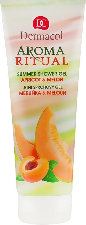 "Гель для душа ""Абрикос и дыня"" - Dermacol Aroma Ritual Apricot&Melon"
