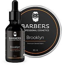 Парфумерія, косметика Набір - Barbers Brooklyn (beard/oil/30ml + beard/balm/50ml)