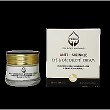 Духи, Парфюмерия, косметика Антивозрастной крем для век и зоны декольте - Finesse Antiwrinkle Eye & Décolleté Cream