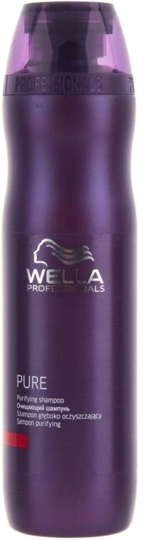Очищающий шампунь для волос - Wella Professionals Pure Purifying Shampoo