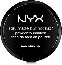 Пудра для лица - NYX Professional Makeup Stay Matte But Not Flat Powder Foundation — фото N3