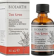 Духи, Парфюмерия, косметика Эфирное масло чайного дерева - Bioearth Tea Tree Oil