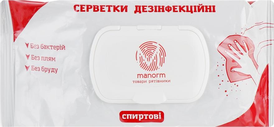 Салфетки дезинфицирующие - Manorm