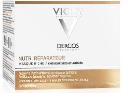 Питательно-восстанавливающая маска для сухих и поврежденных волос - Vichy Dercos Nutri Repairer Masque — фото N2
