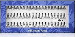 Духи, Парфюмерия, косметика Накладные пучковые ресницы L - Muba Factory Individual Flare Thick Mubalashes