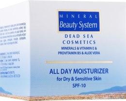 Увлажняющий дневной крем для лица для сухой и чувствительной кожи - Mineral Beauty System All Day Moisturizer SPF 10  — фото N1