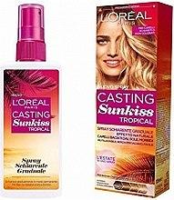 Духи, Парфюмерия, косметика Осветляющий спрей для волос - L'Oreal Paris Casting Sunkiss Tropical Rince Spray