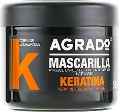Духи, Парфюмерия, косметика Маска для волос - Agrado Keratin Hair Mask