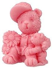 """Духи, Парфюмерия, косметика Натуральное мыло ручной работы """"Два плюшевых мишки"""", розовый - LaQ Happy Soaps"""