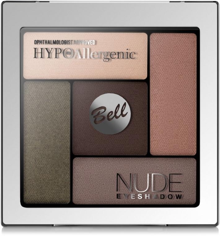Тени для век атласно-кремовые - Bell Hypo Allergenic Nude Eyeshadow
