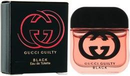 Духи, Парфюмерия, косметика Gucci Guilty Black Pour Femme - Туалетная вода (мини)