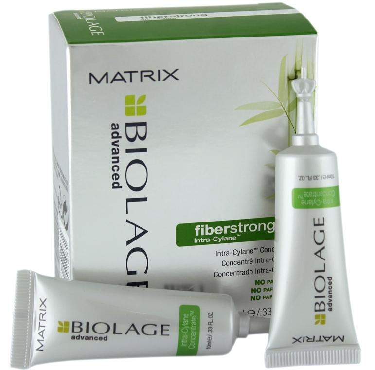 Концентрат для ослабленого волосся - Matrix Biolage Advanced FiberStrong Concentrate — фото N1