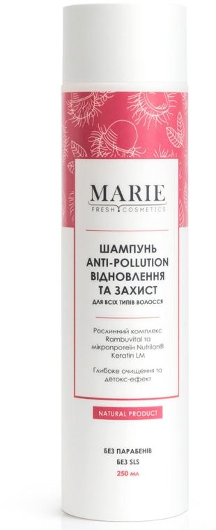 """Шампунь для всех типов волос """"Восстановление и защита"""" - Marie Fresh Cosmetics Anti-Pollution Shampoo"""