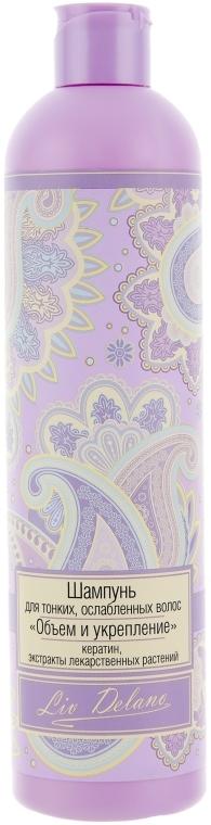 """Шампунь для тонких, ослабленных волос """"Объем и укрепление"""" - Liv Delano Oriental Touch Shampoo"""