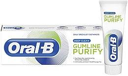 Духи, Парфюмерия, косметика Зубная паста - Oral-B Gumline Purify Deep Clean Toothpaste