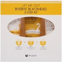 Духи, Парфюмерия, косметика Набор - Mizon Let Me Out Byebye Blackhead (gel/35ml + mask/35g + ser/30ml)