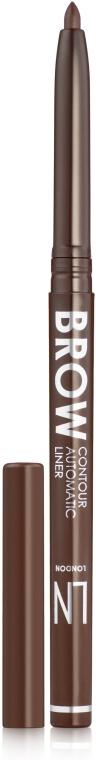 Механический карандаш для бровей - LN Professional Brow Contour Automatic Liner