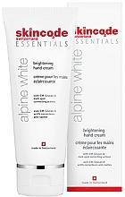 Духи, Парфюмерия, косметика Осветляющий крем для рук - Skincode Essentials Alpine White Brightening Hand Cream