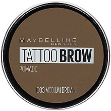 Парфумерія, косметика Помадка для брів - Maybelline New York Tattoo Brow