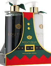 Духи, Парфюмерия, косметика Набор для рук - Grace Cole Boutique Hand Care Duo Mistletoe Kisses (h/lot/500ml + h/wash/500ml)