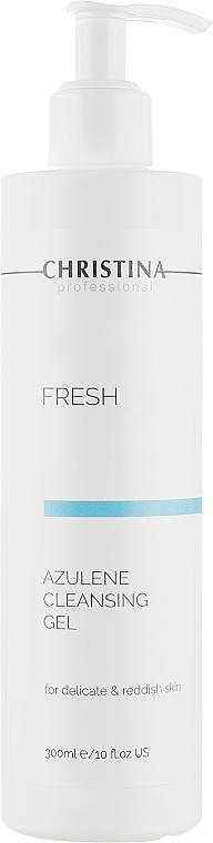 Азуленовое мыло-гель для нормальной и сухой кожи - Christina Fresh Azulene Cleansing Gel