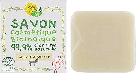 Мыло питательное с молоком ослицы - La Cigale Bio Soap