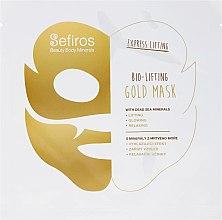 Духи, Парфюмерия, косметика Маска для лица с минералами мертвого моря - Sefiros Bio-Lifting Gold Mask