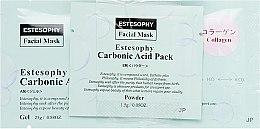 Духи, Парфюмерия, косметика Маска для карбокситерапии лица с коллагеном - Estesophy Carbonic Acid Pack Collagen