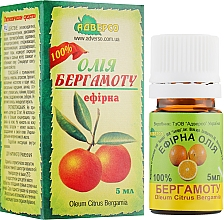 "Эфирное масло ""Бергамота"" - Адверсо — фото N1"
