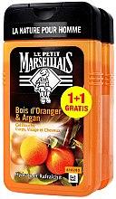 Духи, Парфюмерия, косметика Набор - Le Petit Marseillais Orange Tree and Argan Shampoo Shower Gel (shm/gel/2х250ml)