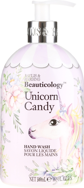 "Жидкое мыло для рук ""Единорог"" - Baylis & Harding Beauticology Unicorn Candy Hand Wash"