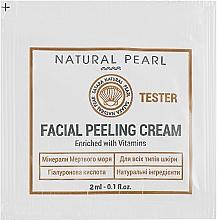 Духи, Парфюмерия, косметика Крем-пилинг для лица, на основе минералов Мертвого моря - Satara Natural Pearl Facial Peeling Cream (пробник)