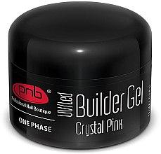 Духи, Парфюмерия, косметика Однофазный моделирующий гель прозрачно-розовый - PNB UV/LED One Phase Builder Gel Crystal Pink