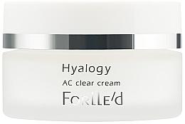 Духи, Парфюмерия, косметика Крем для жирной и комбинированной кожи лица - ForLLe'd Hyalogy AC Clear Cream