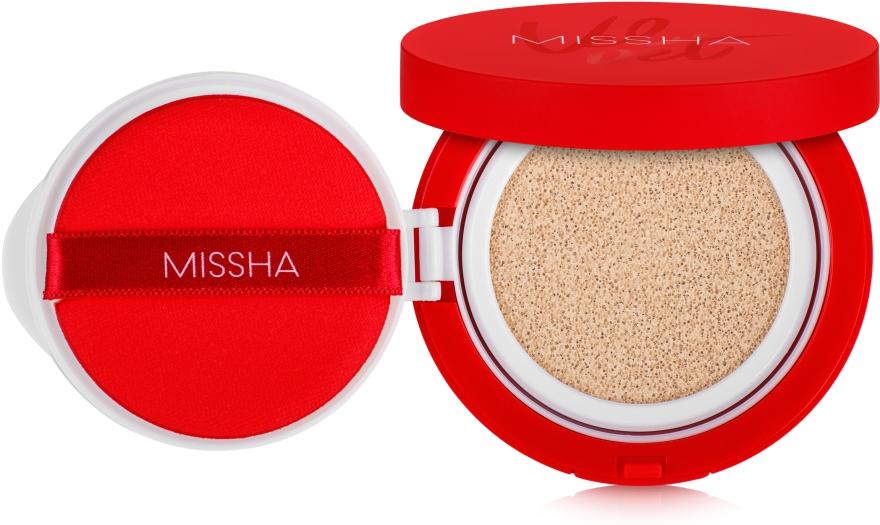Тональный крем-кушон - Missha Velvet Finish Cushion SPF50+/PA+++