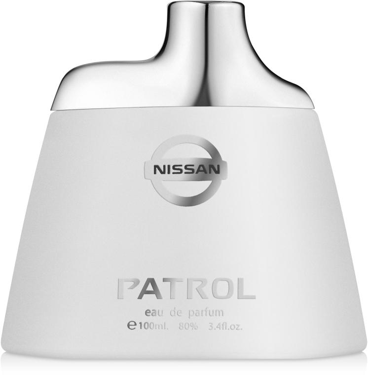 Nissan Patrol - Парфюмированная вода (тестер с крышечкой)